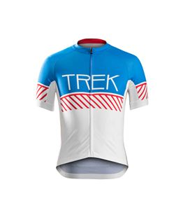 MAILLOT BONTRAGER SPECTER TALLA M AZUL Y BLANCO