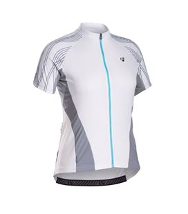 MAILLOT BONTRAGER MUJER RACE SHORT SLEVE TALLA M BLANCO