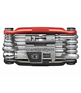 CRANK BROTHERS MULTI - 17 BLACK/RED