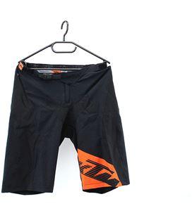 BAGGY KTM FACTORY ENDURO SHORTS BLACK/ORANGE M