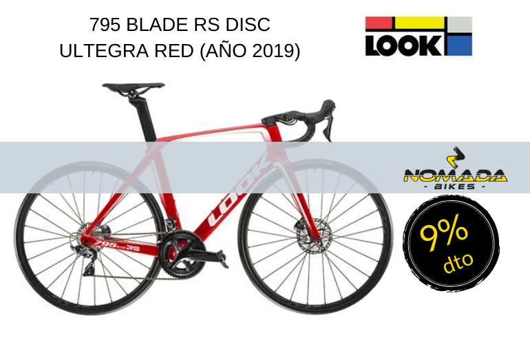 795 BLADE RS DISC ULTEGRA RED (AÑO 2019)