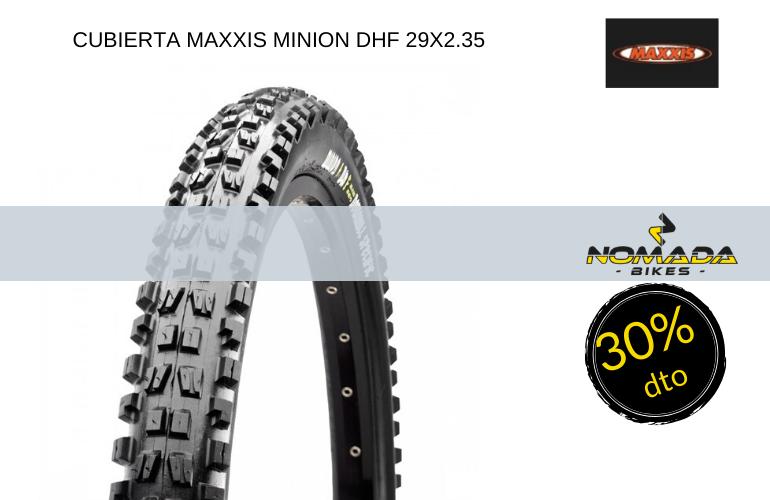 CUBIERTA MAXXIS MINION DHF 29X2.35