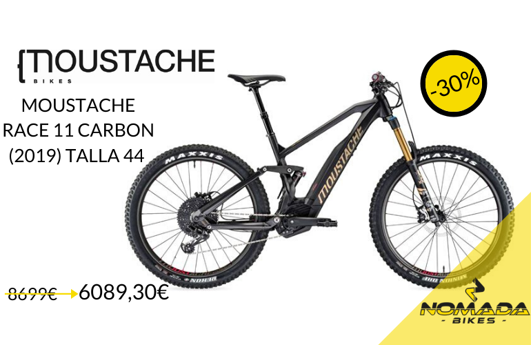 MOUSTACHE RACE 11 CARBON - 2019 TALLA 44 COLOR STANDARD